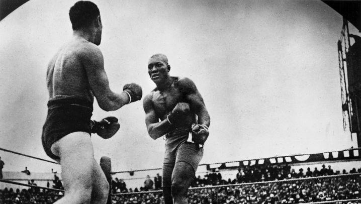 """Boxer Jack Johnson: """"Du kämpfst wie ein Mädchen!"""""""