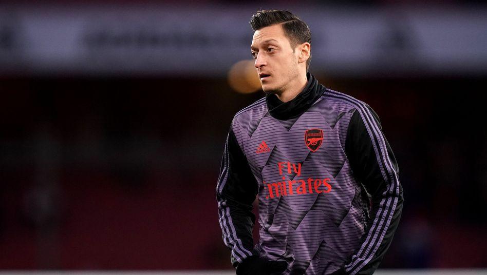 Könne sich laut Chinas Außenministerium gerne ein eigenes Bild von Xinjian machen: Mesut Özil