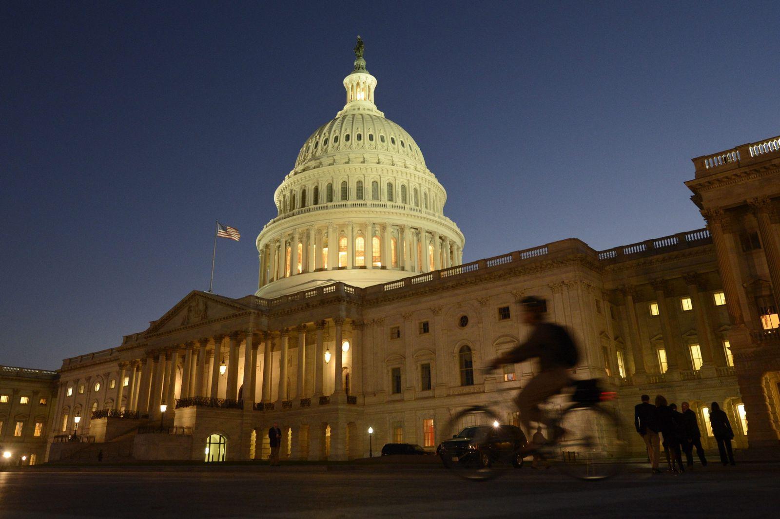 Haushaltsstreit USA / Capitol Washingto / Shutdown