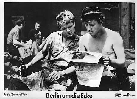 """""""Berlin um die Ecke"""" mit Dieter Mann und Erwin Geschonneck, Regie: Gerhard Klein"""