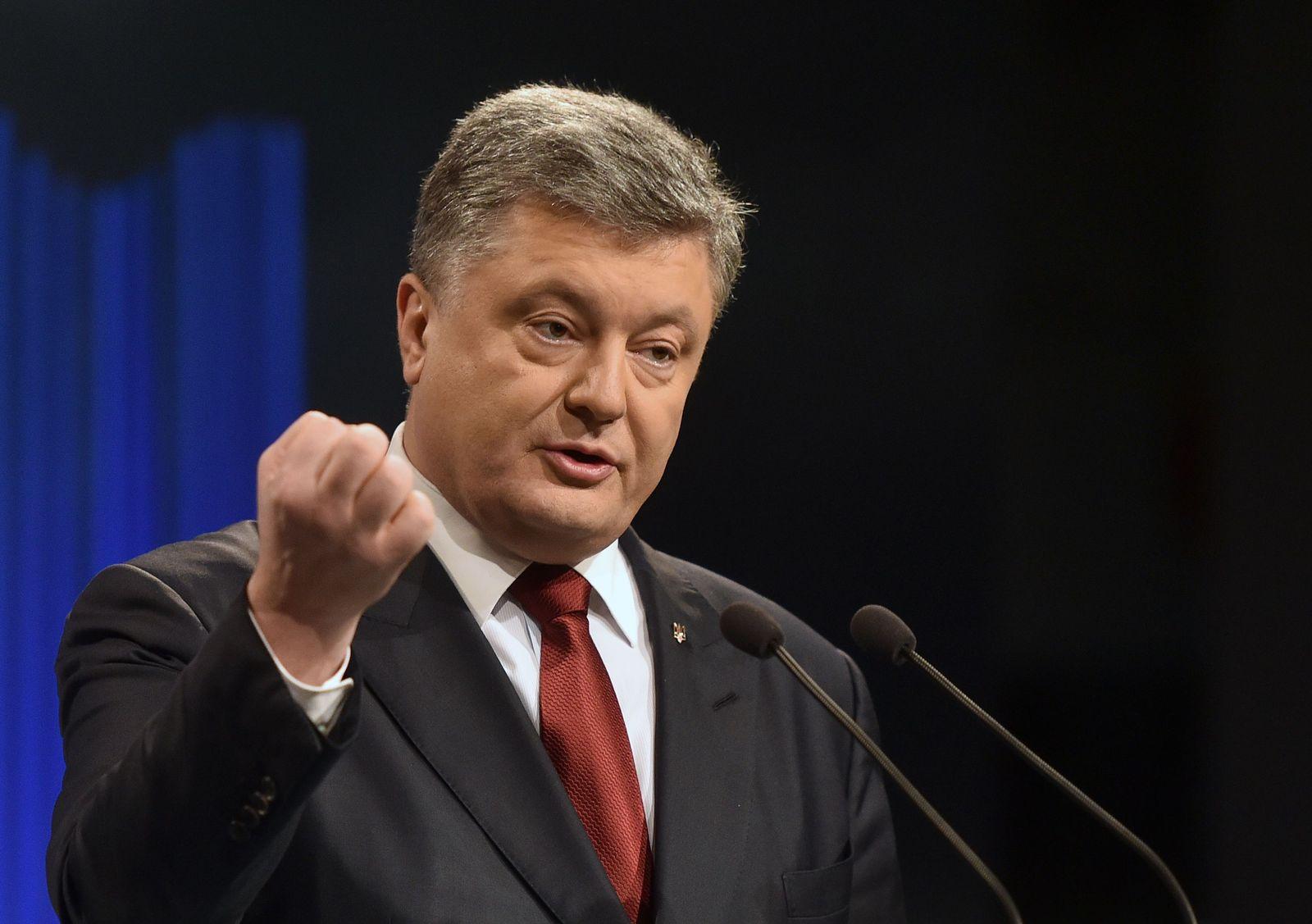 Zerfall Sowjetunion / Poroschenko / Ukraine