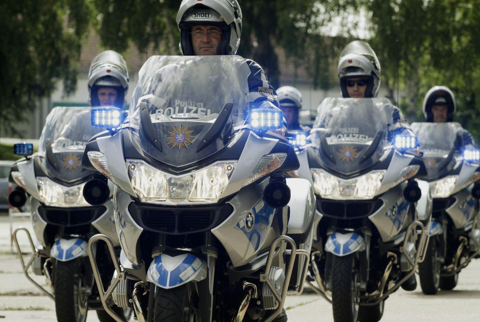 NICHT VERWENDEN Hessische Polizei bekommt neue Motorräder