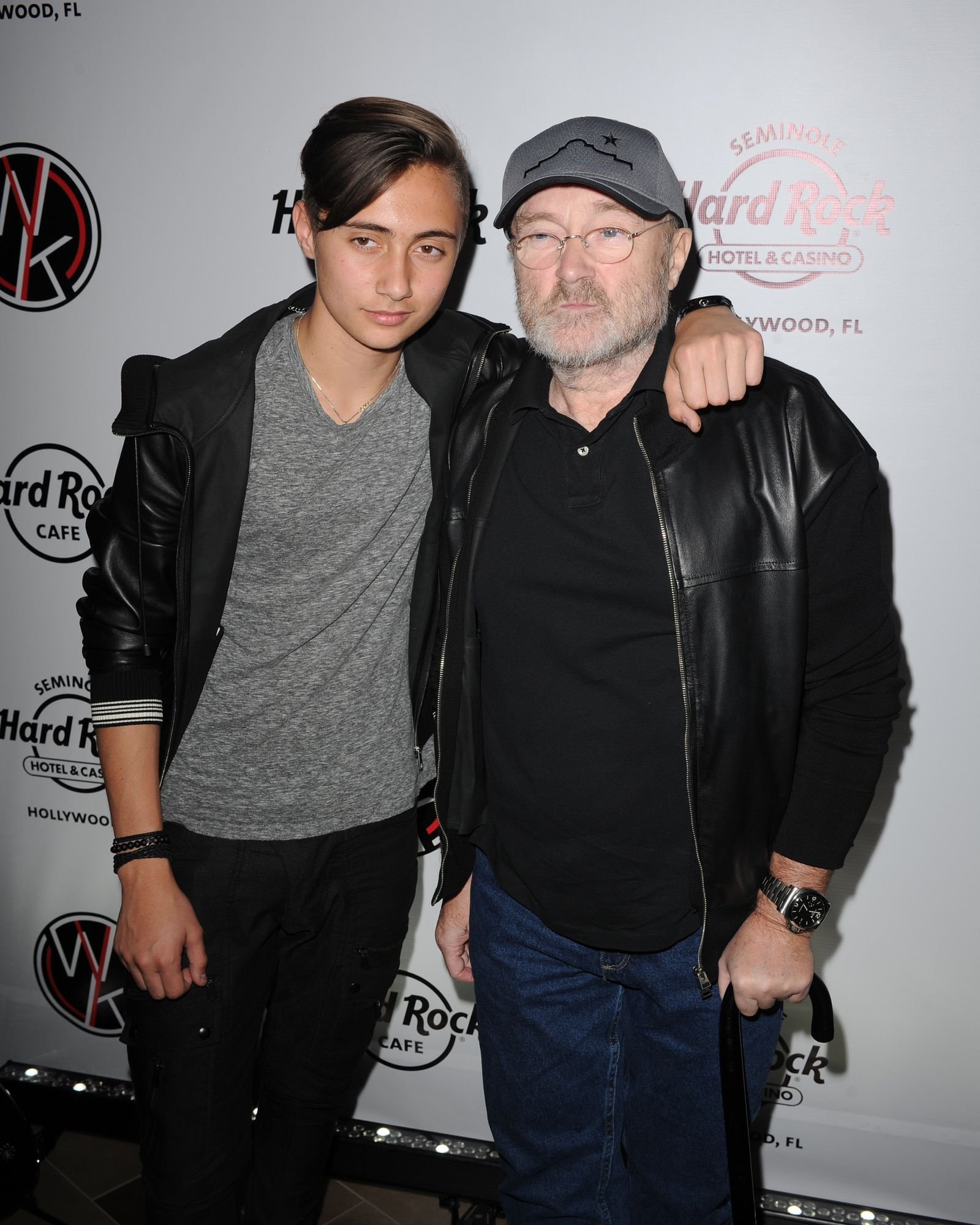 Genesis-Reunion/ Phil Collins und Sohn Nicholas