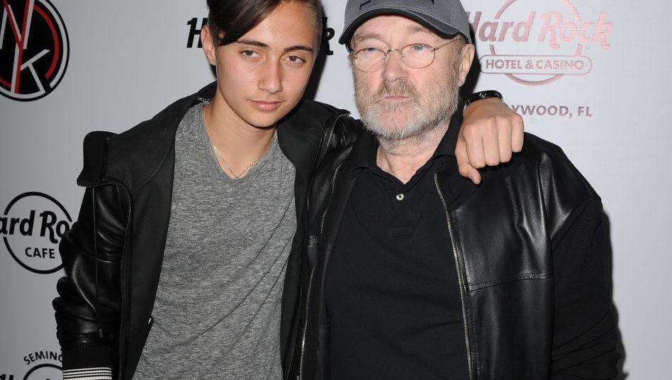 Nicholas und Phil Collins