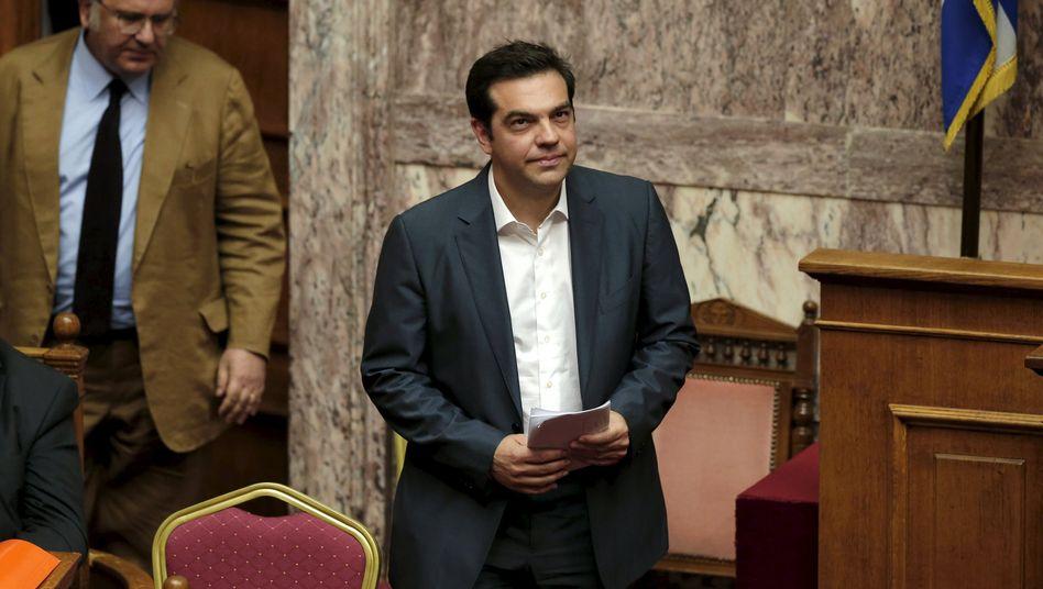 Neues Kabinett in Griechenland: Tsipras feuertlinke Rebellen