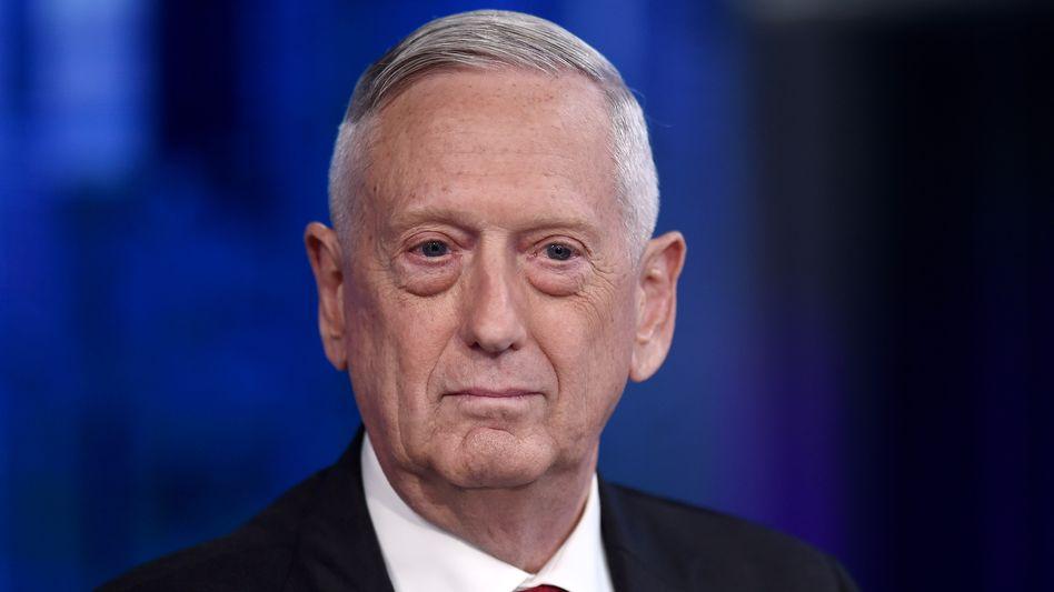 """Ex-US-Verteidigungsminister James Mattis: """"Missbrauch der Regierungsmacht"""" (Archivbild)"""