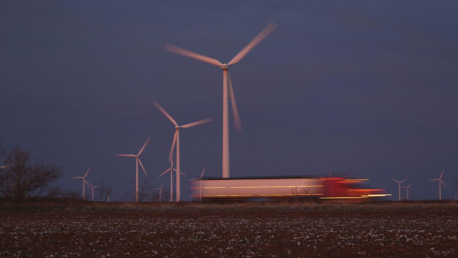 USA/ Texas/ Windenergie