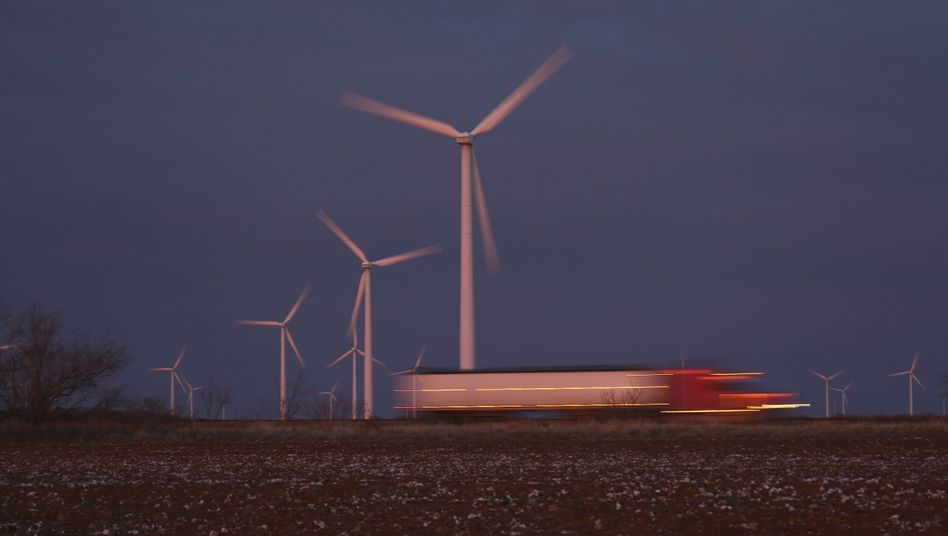 Windpark in Texas: Rotoren bis zum Horizont