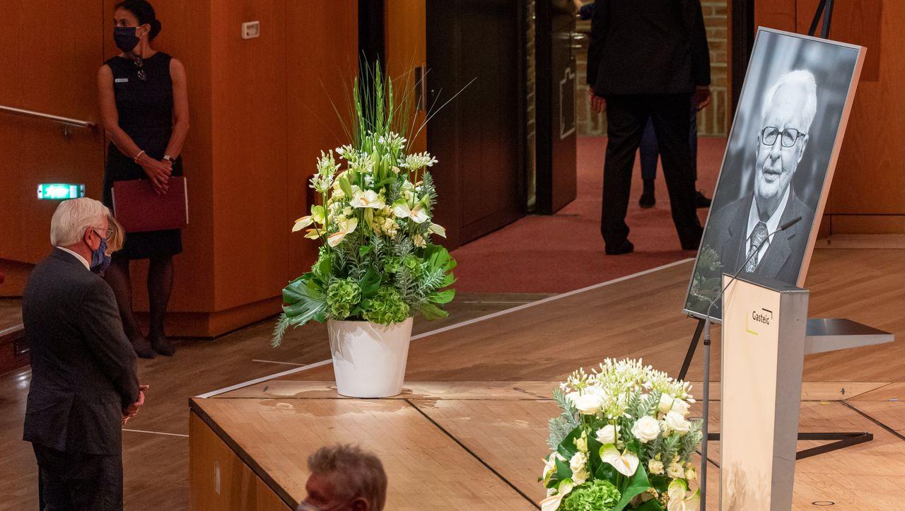 Hans-Jochen Vogel: Abschied von früherem SPD-Chef bei Trauerfeier in München