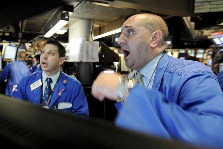Broker an der Wall Street: Morgan und Goldman werden normale Banken