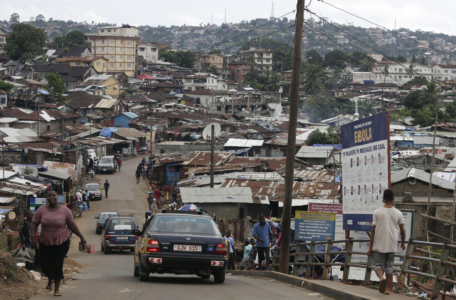 Sierra Leone Afrika Ebola Epidemie
