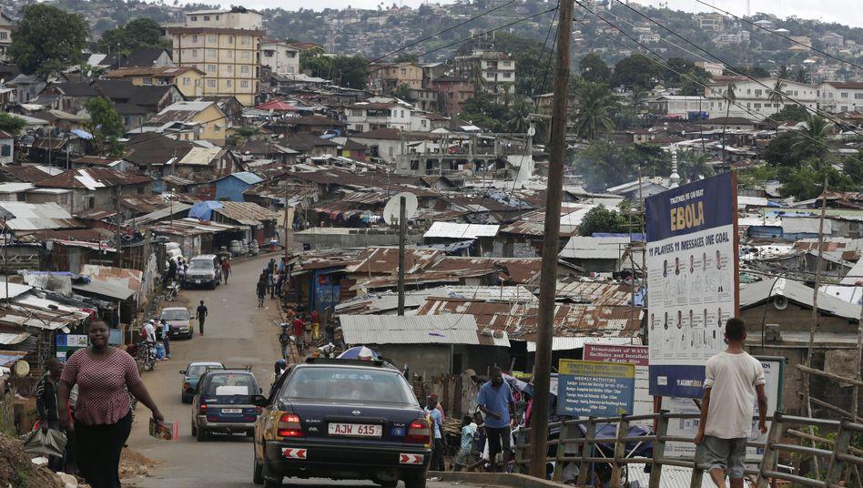 Freetown in Sierra Leone: Ebola ist noch nicht besiegt