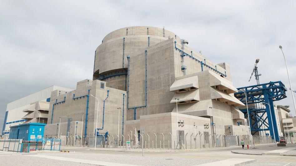 Neuer Kernreaktor »Hualong One« in der chinesischen Provinz Fujian