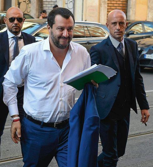 """Vizepremier Salvini: """"Niemand wird uns stoppen können"""""""