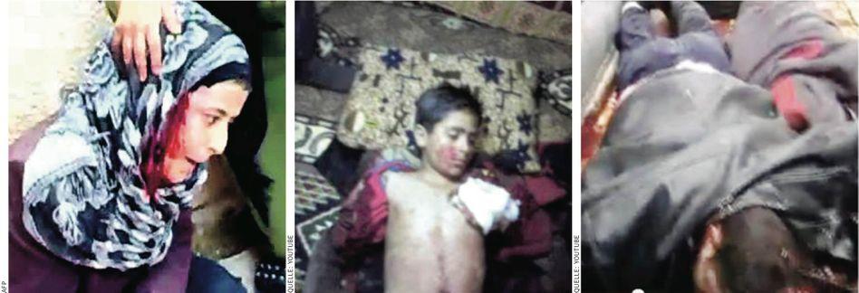 YouTube-Bilder von Opfern syrischer Militärangriffe: Das Leid eines Volkes auf Tausenden verwackelten Clips