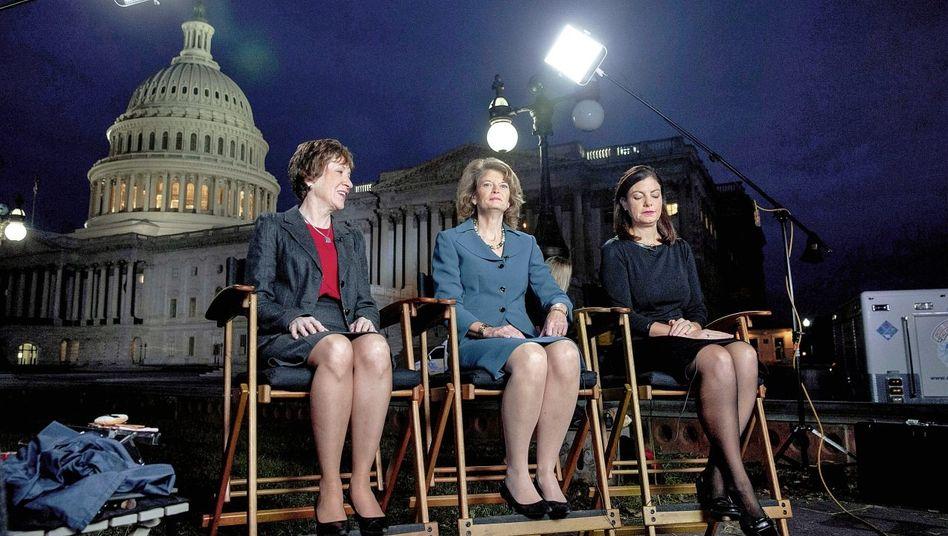 Republikanerinnen Collins, Murkowski, Ayotte: Vernunftbegabte Schwestern