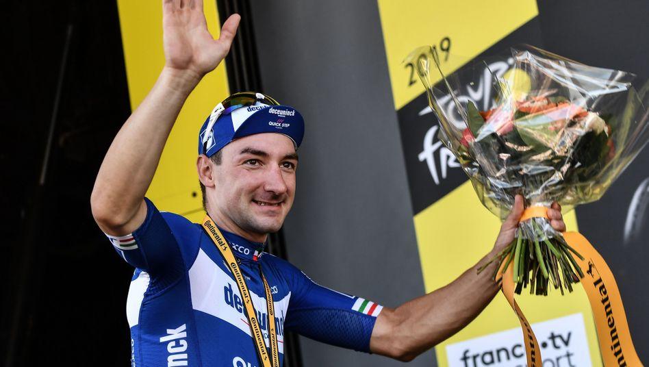 Jetzt hat er auch seinen Etappensieg bei der Tour: Elia Viviani