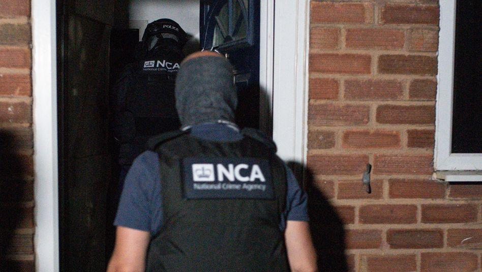 Razzia der National Crime Agency in Birmingham
