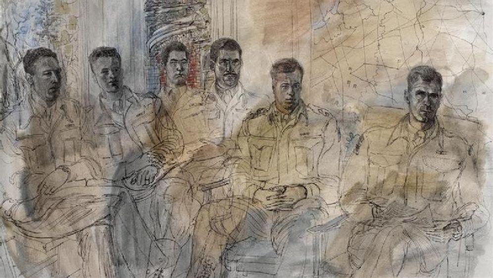 D-Day in Wasserfarben: Der Schrecken gemalt