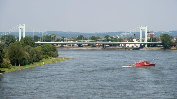 Mühlheimer Brücke in Köln: Hier wurde die Bombe gefunden