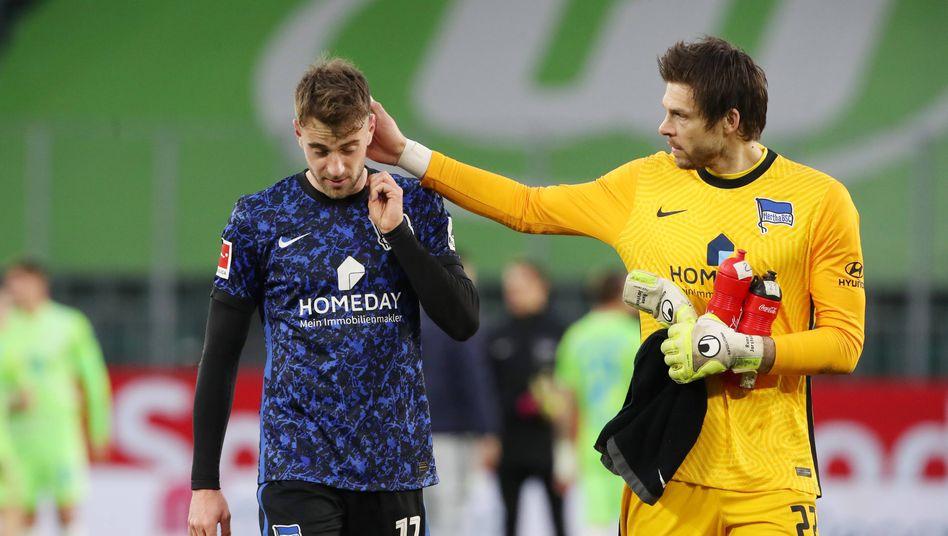 Hat seit neun Spielen nicht mehr gewonnen: Hertha BSC