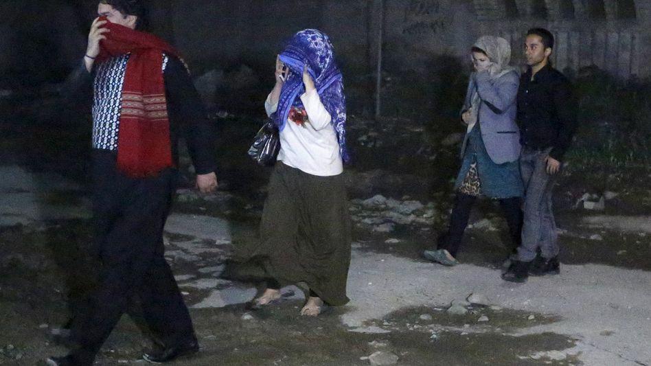 Gerettete Geiseln in Kabul: Anschlag auf das Gästehaus Park Palace