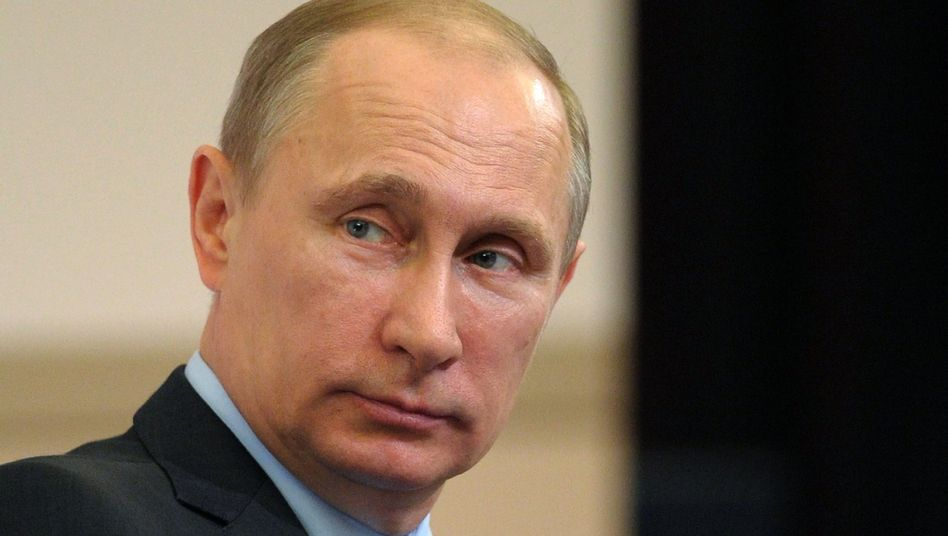 """Präsident Wladimir Putin: Krise habe sich durch """"gewaltsame Operation"""" der Ukraine deutlich verschärft"""