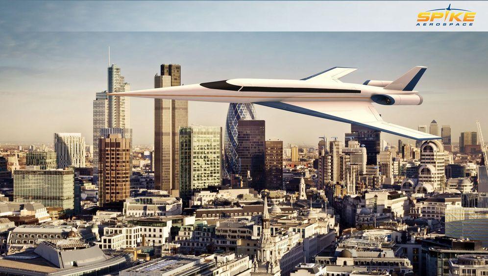Concorde-Nachfolger: Fliegen mit Hochgeschwindigkeit