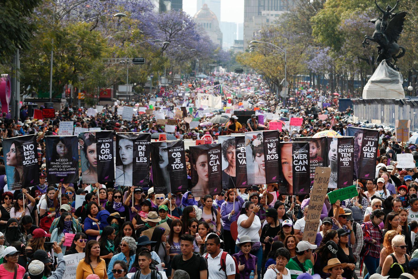 Internationaler Frauentag - Mexiko