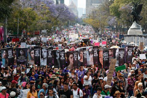 Frauenproteste sind in Mexiko zu einer Volksbewegung geworden