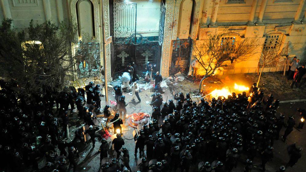 Anschlag auf Kopten: Trauer, Wut, Zerstörung