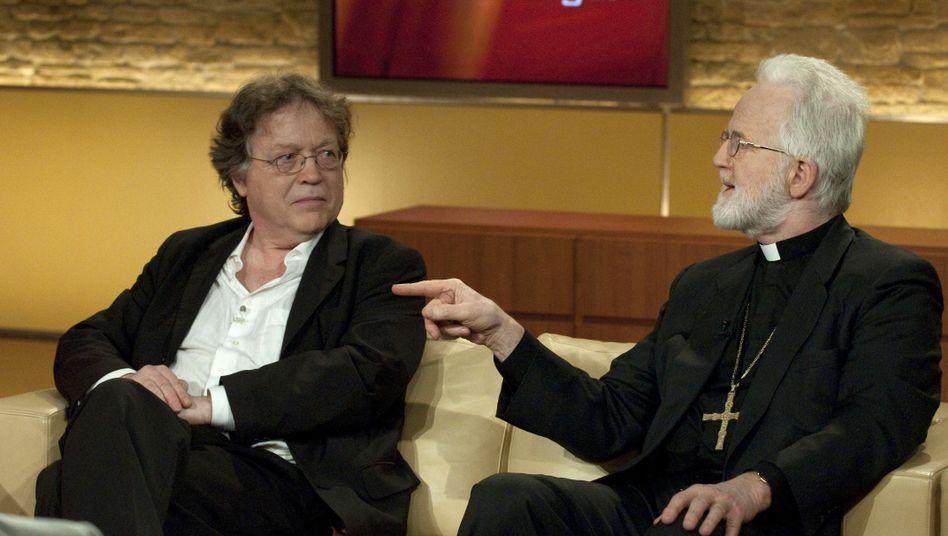 """Musiker Wittenbrink, Bischof Laun bei Maischberger: """"Kopfnüsse für falsche Noten"""""""