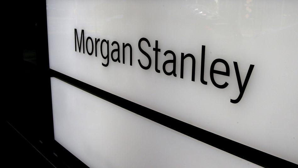 Logo von Morgan Stanley