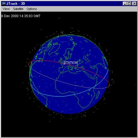 Wo ist die ISS? Internet-Seiten geben jederzeit Auskunft über die aktuelle Position der Raumstation