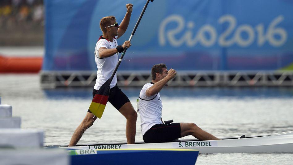 Sebastian Brendel (l.) und Jan Vandrey