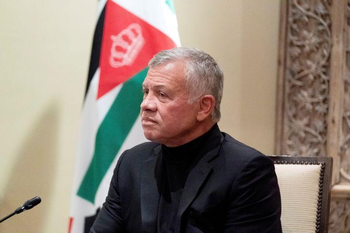 Jordaniens König Abdullah II. regiert seit 1999