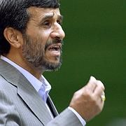 Defying the West: Iranian President Mahmoud Ahmadinejad.