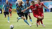 Frankfurt scheidet in der ersten Runde aus – Köln rettet sich im Elfmeterschießen