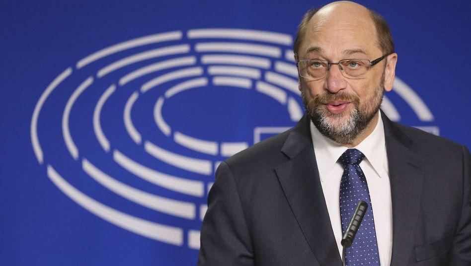 Martin Schulz, Unterstützer der Initiative
