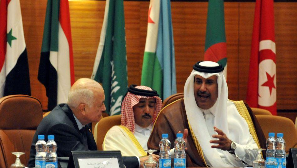 Mitglieder der Arabischen Liga und der Türkei: Maßnahmen zum Schutz syrischer Zivilisten