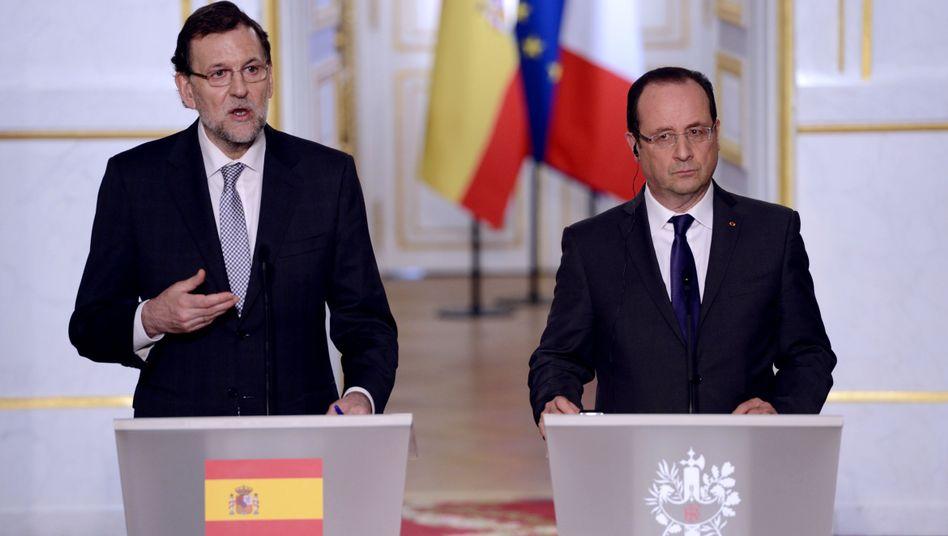 Präsident Hollande: Protest gegen Ratschläge aus Brüssel
