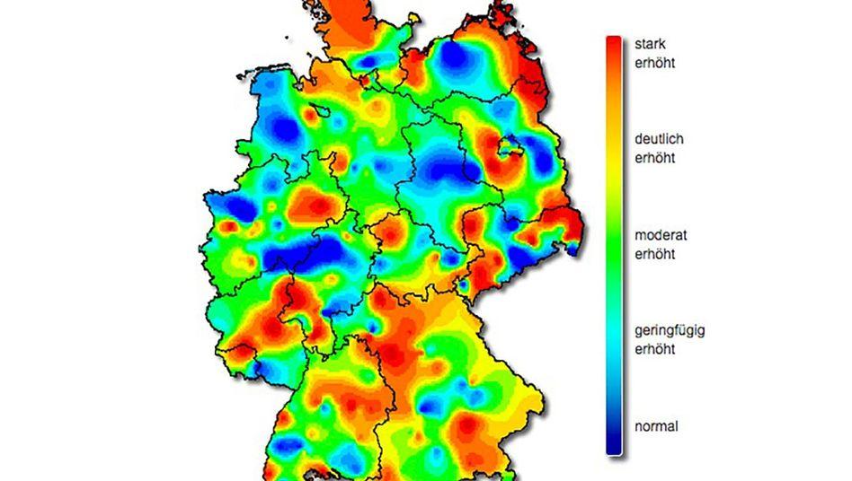 Grippe Welle Wo Deutschland Schnupft Und Schnieft Der Spiegel