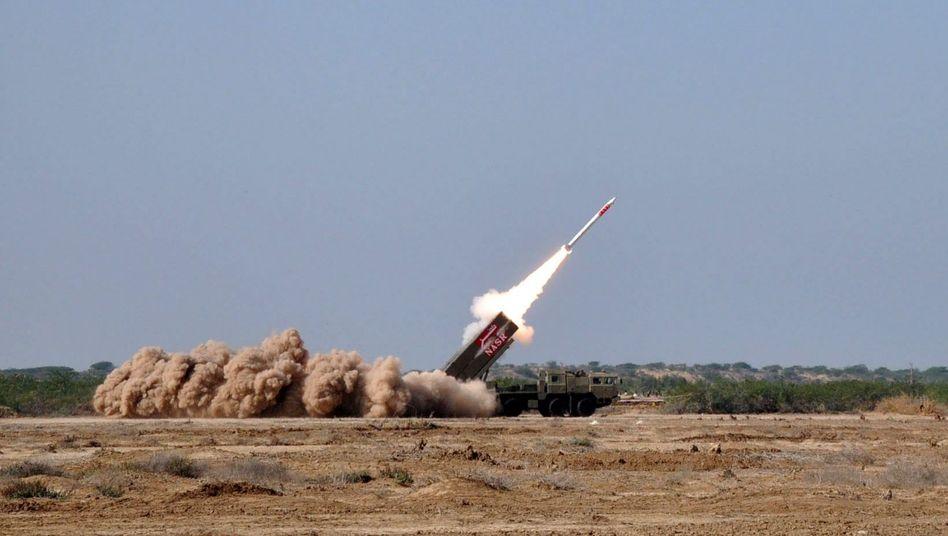 """Pakistanische """"Nasr""""-Kurzstreckenrakete: Nukleare Drohung gegen Indien"""