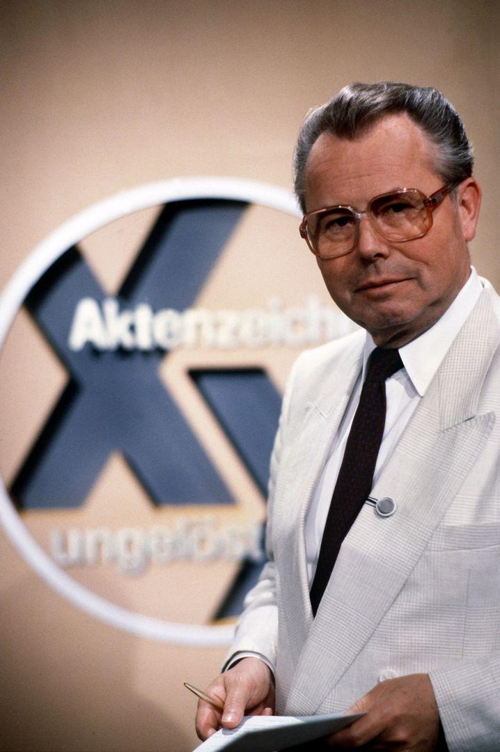 """""""Aktenzeichen XY"""" 1986 mit Eduard Zimmermann"""