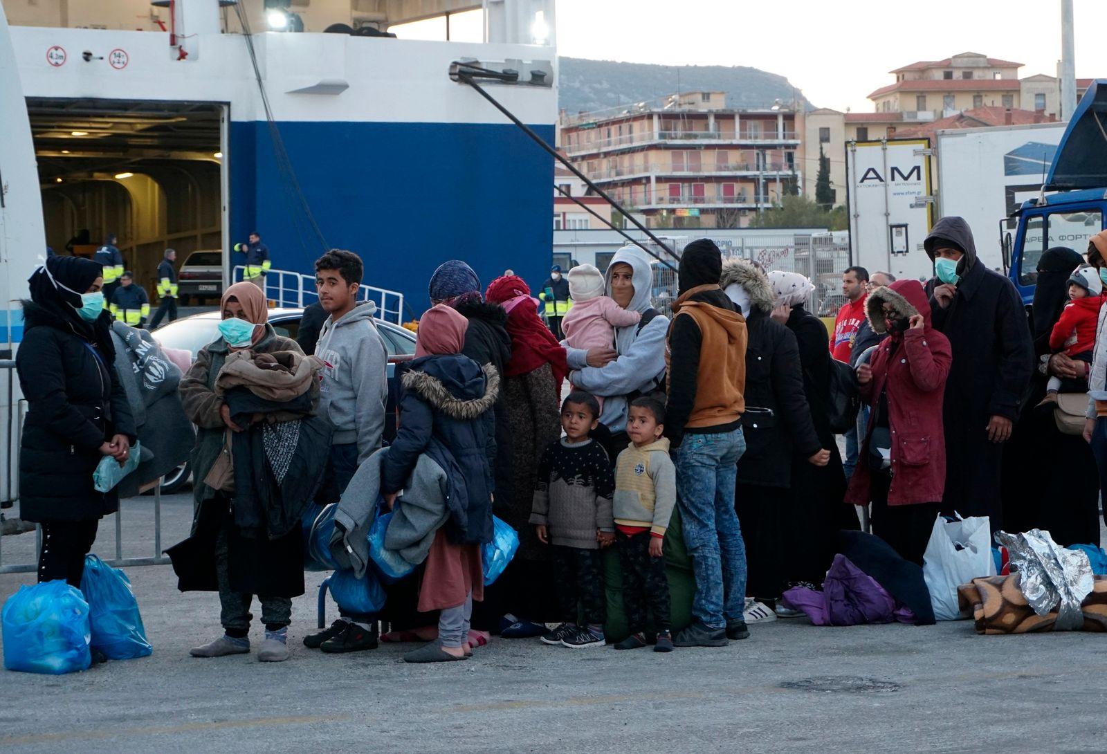 Greece Turkey Migrants