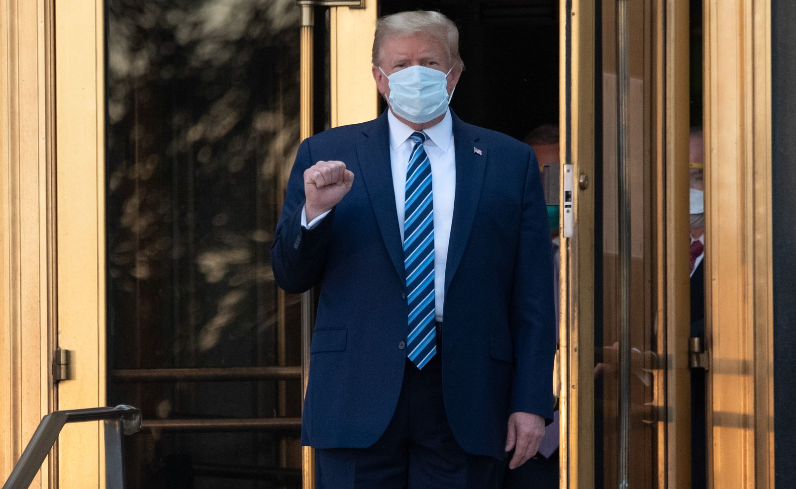 Trump treated in hospital after positive test for coronavirus