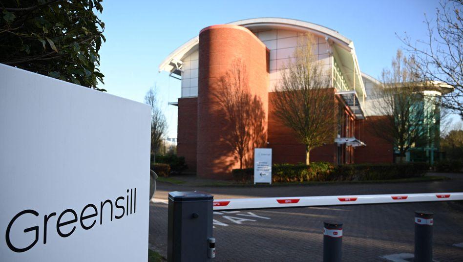 Greensill-Niederlassung in England: Regierungsmitglieder als Teilzeitmitarbeiter
