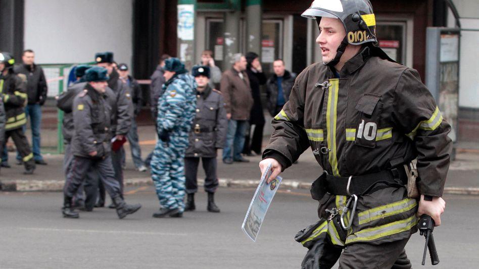 Russland: Dutzende Tote bei Anschlägen in Moskauer U-Bahn