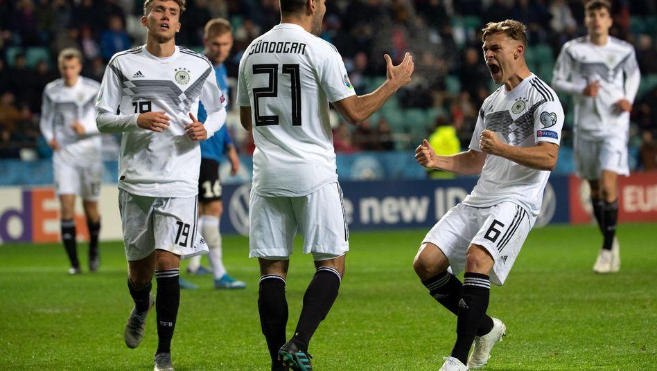 Ilkay Gündogan schoss das DFB-Team mit einem Doppelpack zum Sieg