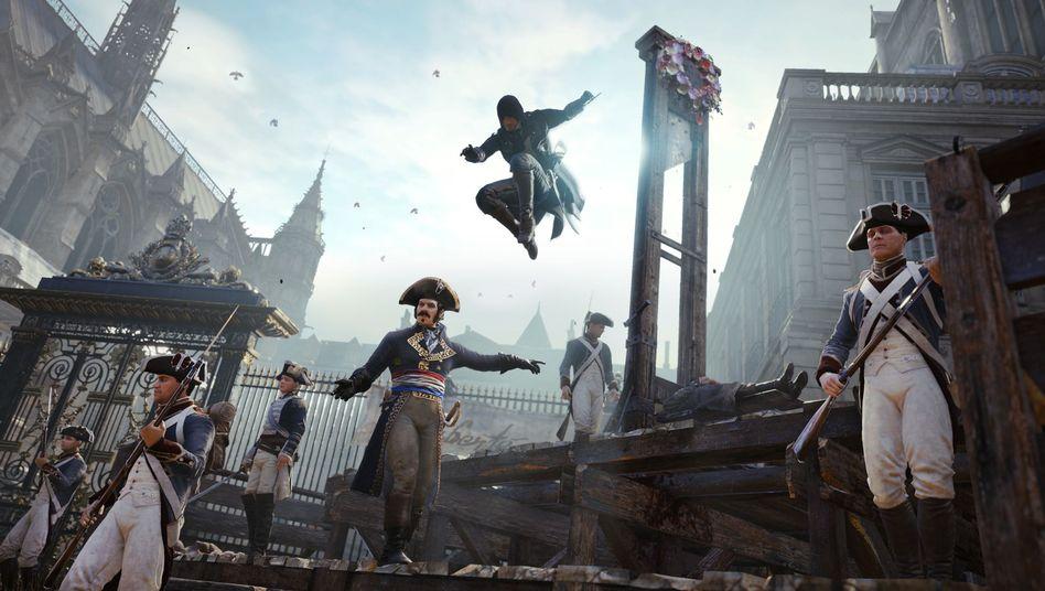 """""""Assassin's Creed: Unity"""": Keine weiblichen Charaktere spielbar"""